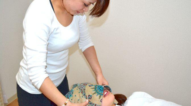 小顔矯正 セルライト太もも+ヒップ F様 20180126∥ 心月整体院・神戸施術院・女性専用サロン