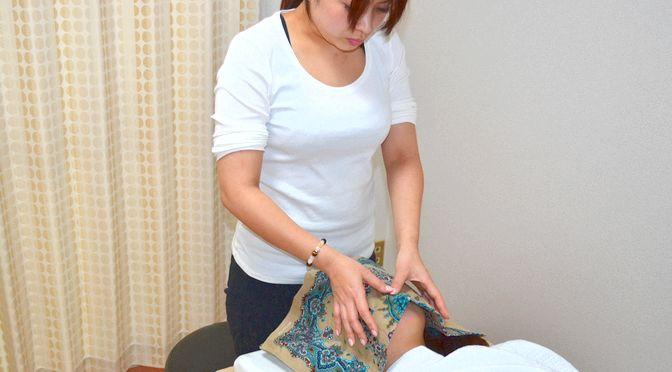 小顔矯正 M様20170309-2 ∥ 心月整体院・神戸施術院・女性専用サロン