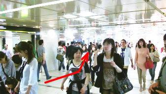 御堂筋線梅田駅4