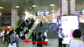 御堂筋線梅田駅6