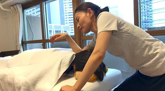 小顔矯正 Y様20180115|心月整体院・大阪施術院