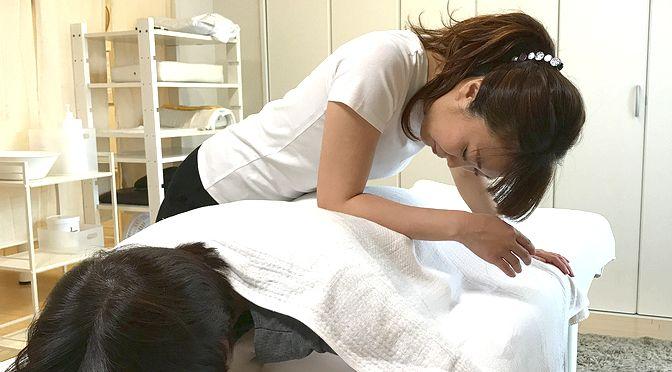 骨盤矯正、セルライト足 N様20180828|心月整体院・大阪施術院・女性専用サロン
