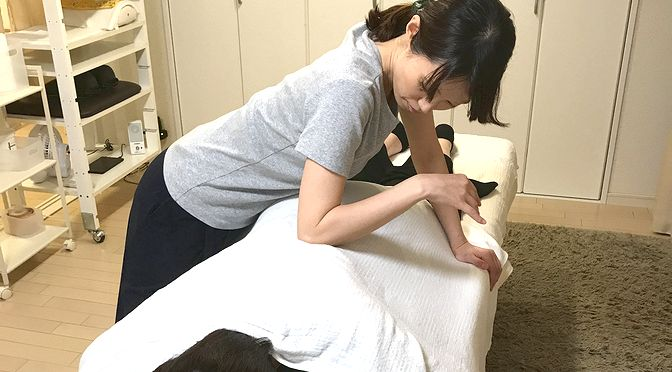 小顔矯正+骨盤矯正 K 様20170927-4|心月整体院・大阪施術院 ・女性専用サロン