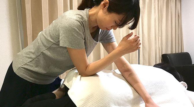 骨盤矯正 M 様20171006-3|心月整体院・大阪施術院 ・女性専用サロン