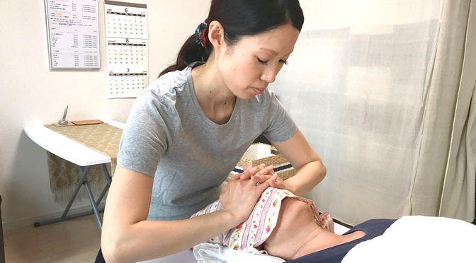 小顔(美整顔)矯正 M様20180705|心月整体院・大阪施術院・女性専用サロン
