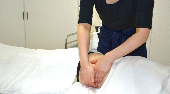 芯圧整体、セルライト除去整体腹部・腰  K 様20180809|心月整体院・奈良施術院・女性専用
