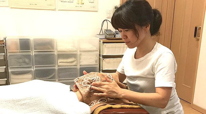 小顔矯正+骨盤矯正 K 様20180216|心月整体院・奈良施術院・女性専用
