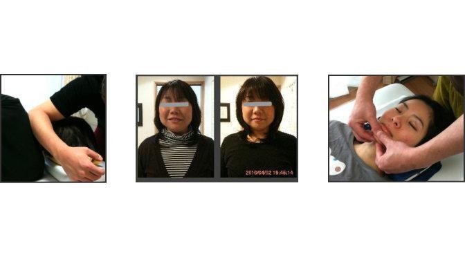 小顔矯正なら大阪・奈良・神戸の心月整体院・女性専用サロン