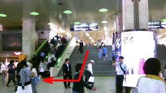 阪急梅田駅1
