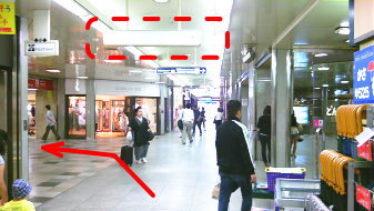 御堂筋線梅田駅14