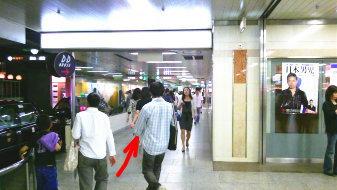 御堂筋線梅田駅9