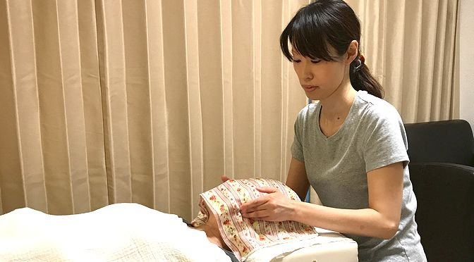 小顔矯正 A様20190115|心月整体院・大阪施術院・女性専用サロン