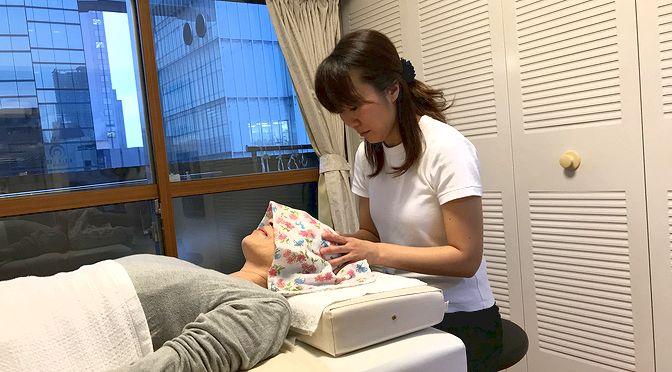 小顔矯正 K様20180706|心月整体院・大阪施術院・女性専用サロン