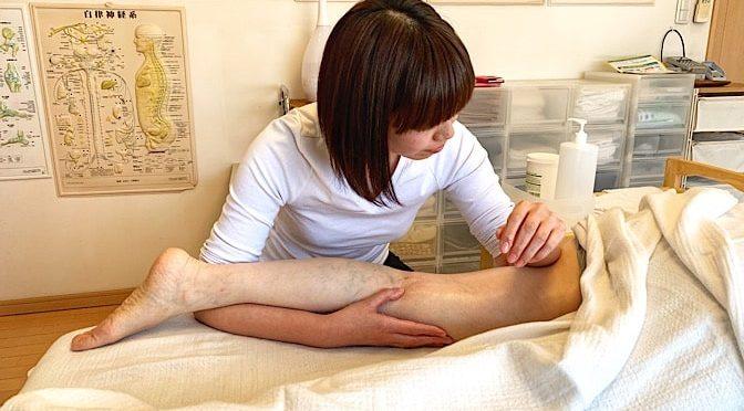 セルライト足 O様20190505|心月整体院・大阪施術院・女性専用サロン