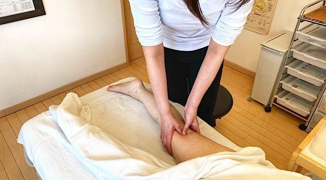 セルライト足 O様20190518|心月整体院・大阪施術院・女性専用サロン