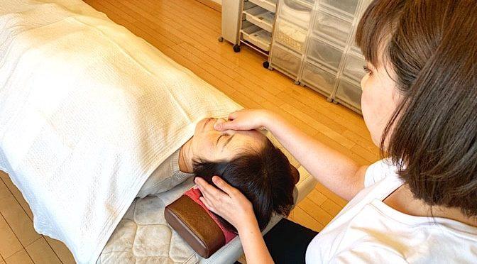 小顔矯正 I様20190601|心月整体院・大阪施術院・女性専用サロン