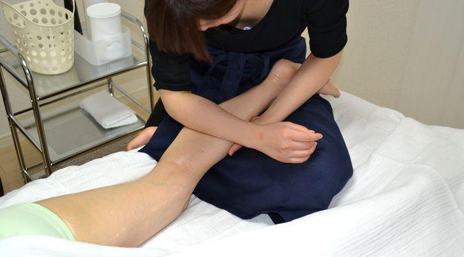 セルライト除去整体 足、ヒップ M 様20180922|心月整体院・奈良施術院・女性専用