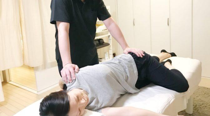 体幹リンパ【美脚】骨盤矯正+首肩矯正20210306O様