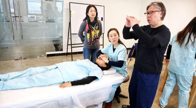 日本小顔矯正育成スクール・中国北京講習