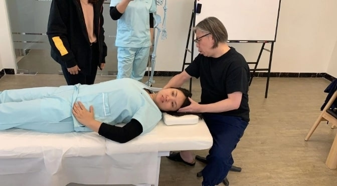 2019年3月中国北京、小顔矯正+骨盤矯正スクール、講習レポート